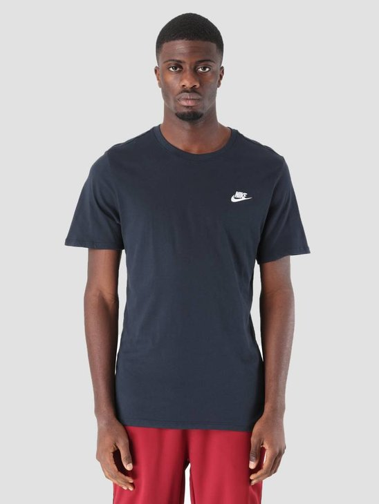 Nike NSW T-Shirt Dark Obsidian White 827021-475