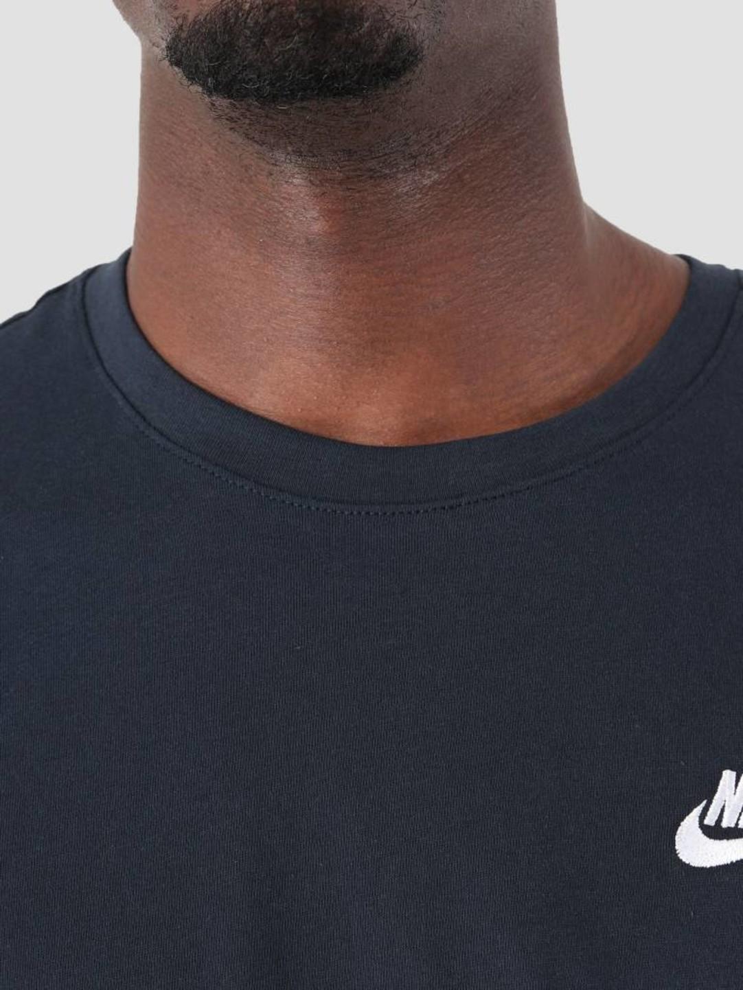 Nike Nike NSW T-Shirt Dark Obsidian White 827021-475