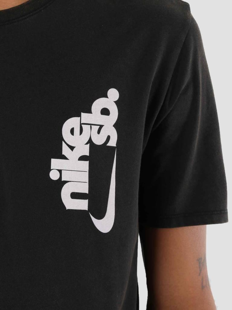 Nike Nike SB T-Shirt Black White Aa8072-010