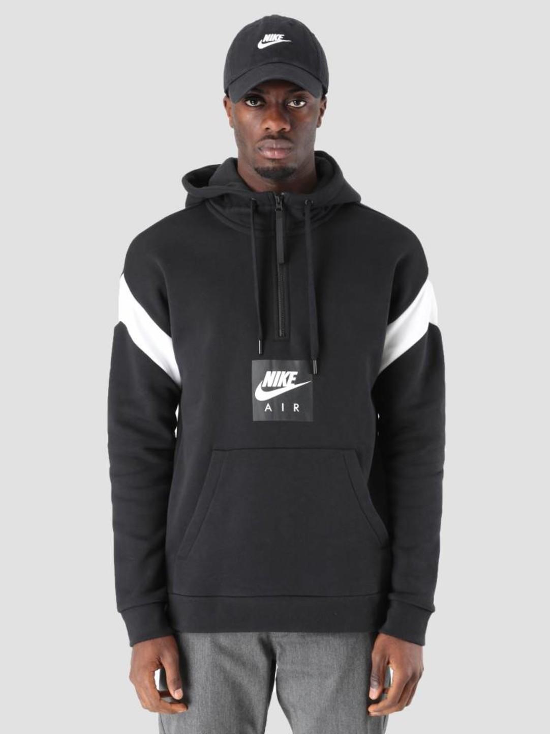 Nike Nike Air Hoodie Black White 930454-010
