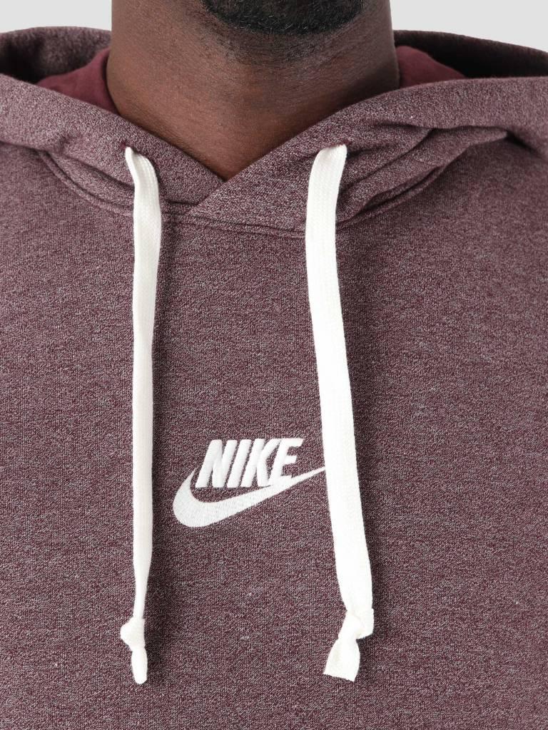 Nike Nike NSW Heritage Hoodie Burgundy Crush Htr Sail 928437-652