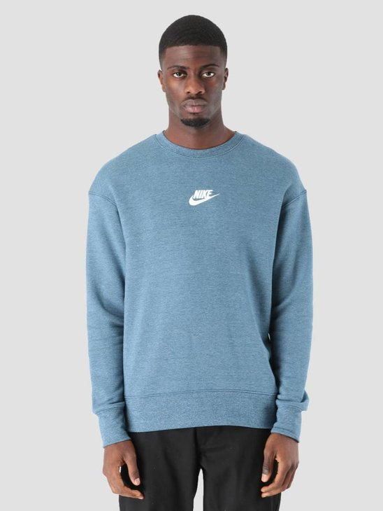 Nike NSW Heritage Sweater Blue Force Htr Sail 928427-474