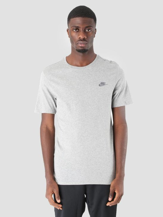 Nike NSW DK T- Shirt Grey Heather Cool Grey 827021-063