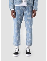 Obey Obey Bender Eyes Denim Pant Eyes Light Indigo Multi 142010064