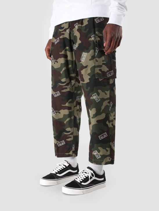 Obey Fubar Big Fits Cargo Pant Eyes Field Camo 142020103