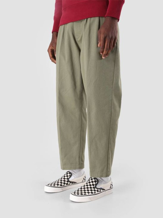 Obey Fubar Pleated Pant Burnt Olive 142020106