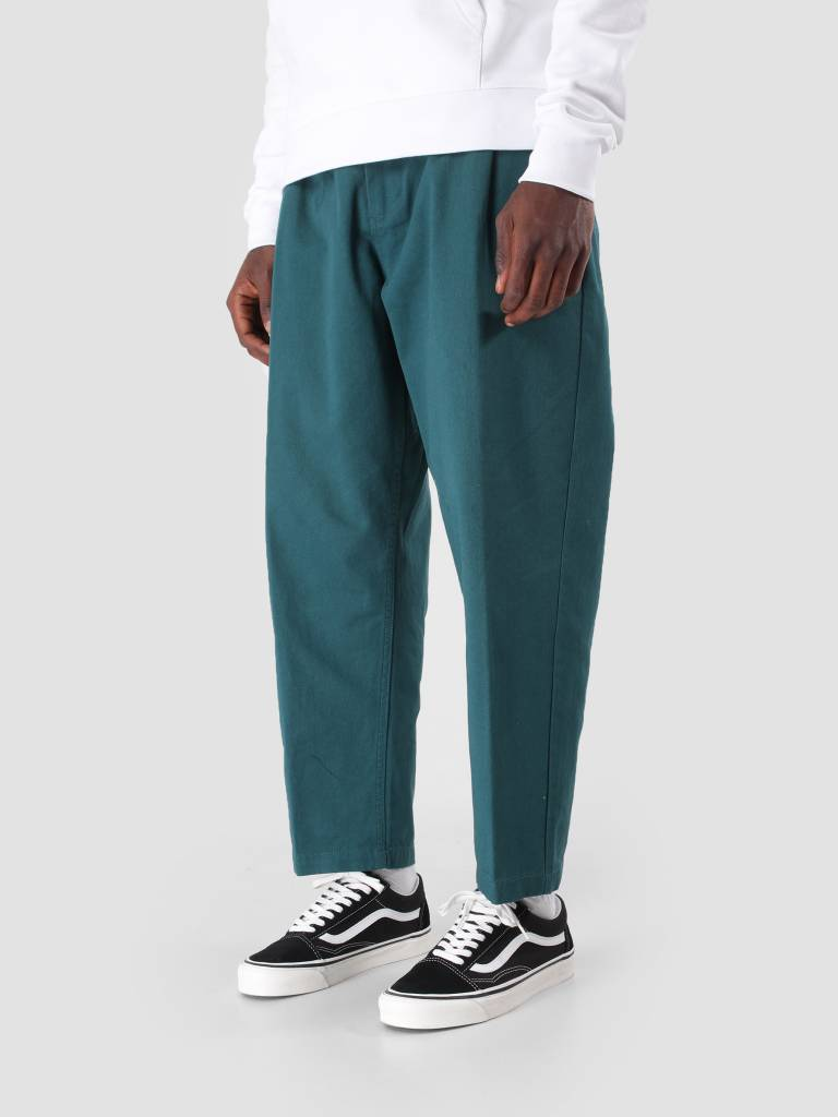 Obey Obey Fubar Pleated Pant Pine Green 142020106
