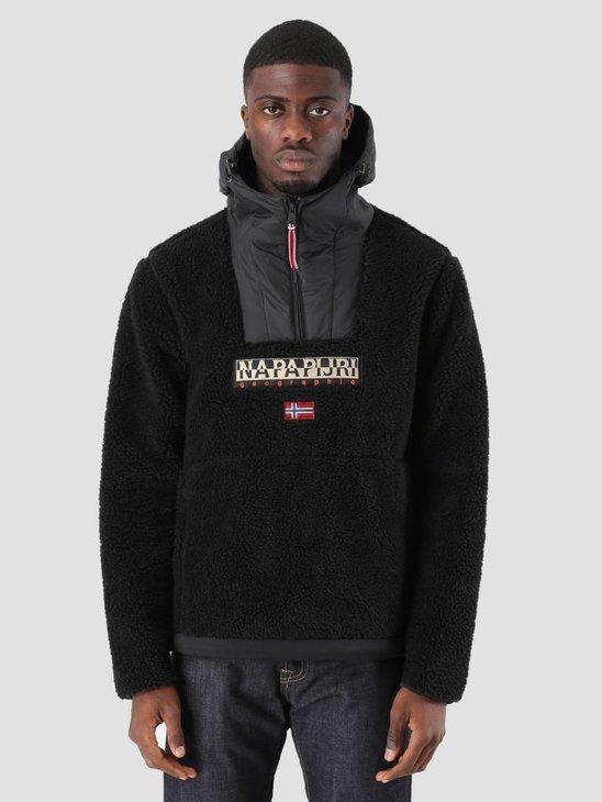 NAPAPIJRI Teide 1 Sweater Black N0YI3M041