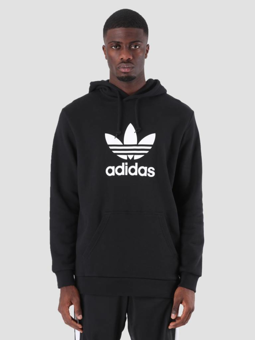 e4515f3d adidas Trefoil Hoodie Black DT7964 | FRESHCOTTON