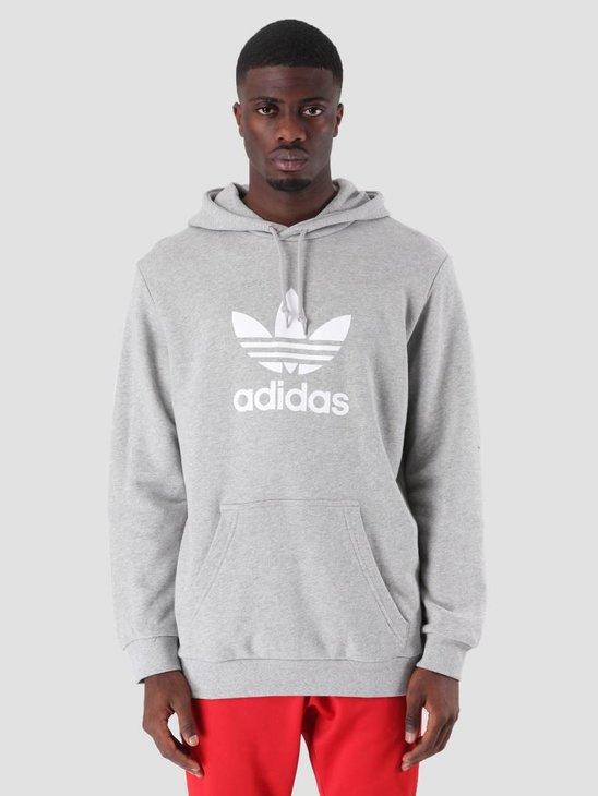 adidas Trefoil Hoodie Mgreyh DT7963