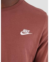 Nike Nike NSW Sweater Red Sepia White Aq7141-236