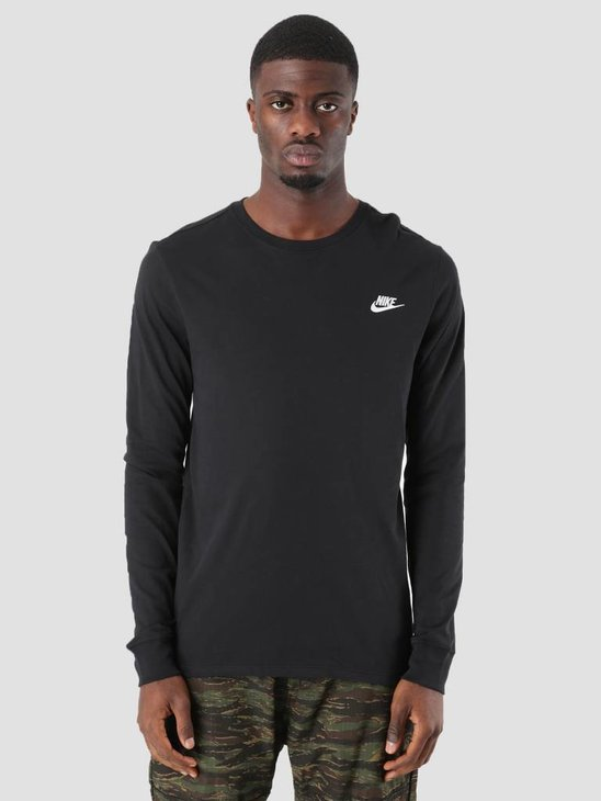 Nike NSW Sweater Black White Aq7141-010