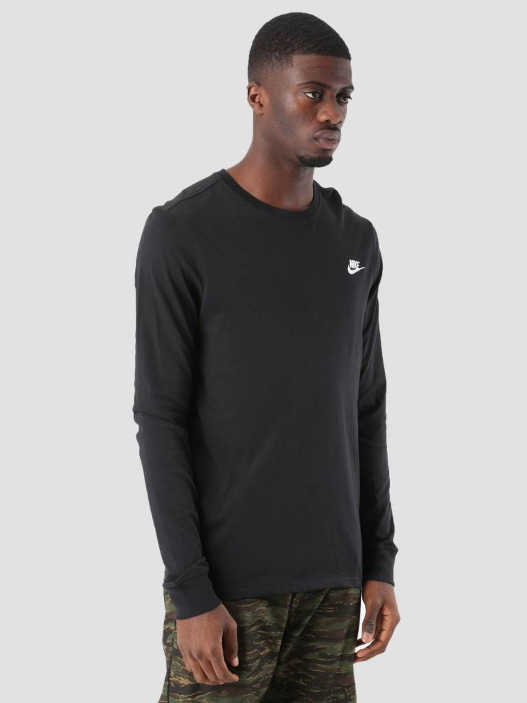 Nike Nike NSW Sweater Black White Aq7141-010