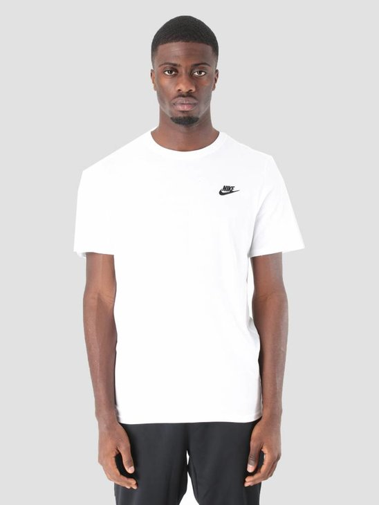 Nike Sportswear T-Shirt White Black 827021-100