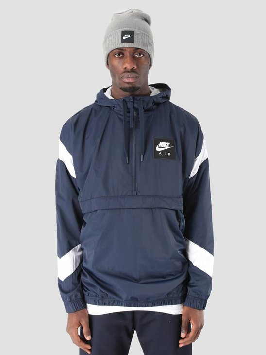 Nike NSW Nike Air Jacket HD WVN Obsidian White Obsidian 932137-452