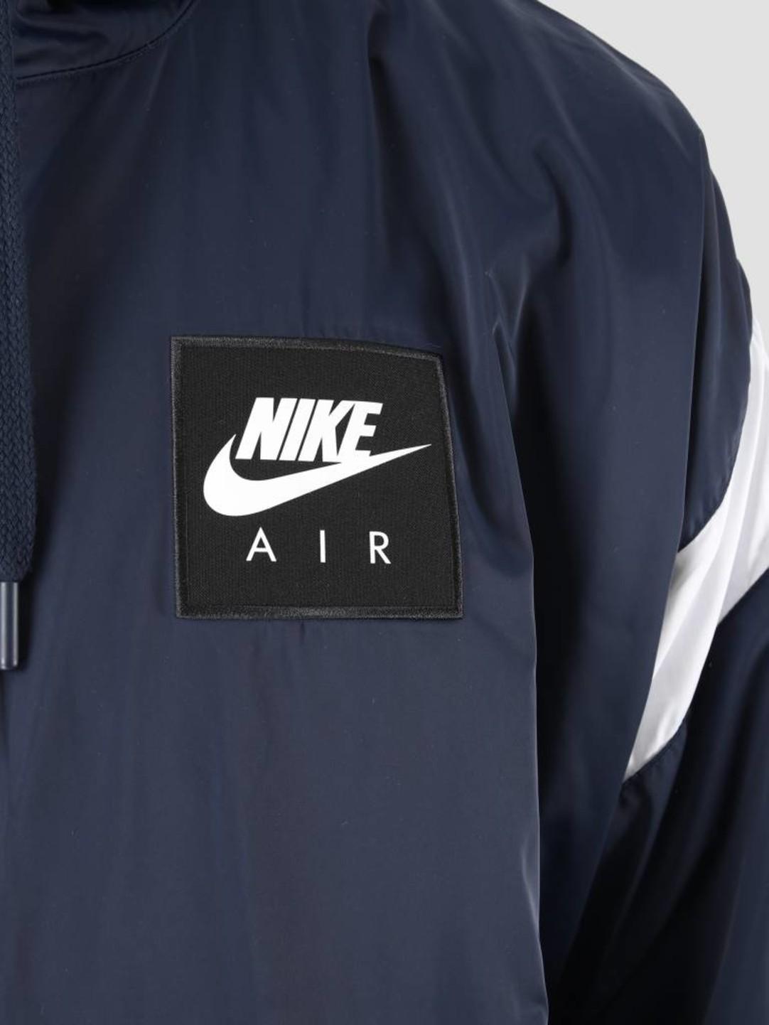 Nike NSW Nike Air Jacket HD WVN Obsidian White Obsidian 932137 452