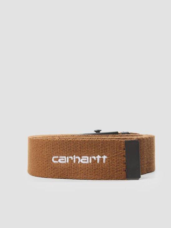 Carhartt Orbit Belt Hamilton Brown White I025745-HZ00