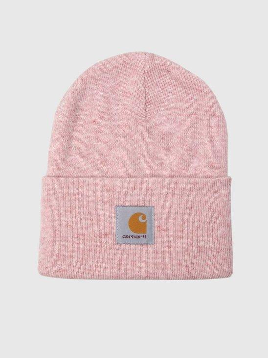 Carhartt Acrylic Watch Hat Soft Rose Heather I020175