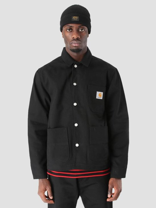 Carhartt Chalk Jacket Rigid Black I025936-8901