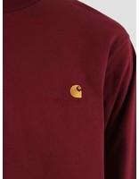 Carhartt Carhartt American Script Longsleeve Mulberry I025712-88400
