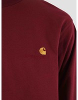 Carhartt WIP Carhartt WIP American Script Longsleeve Mulberry I025712-88400