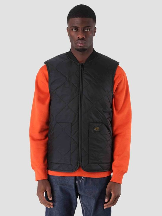 Carhartt Newton Vest Liner Black I023426-8900