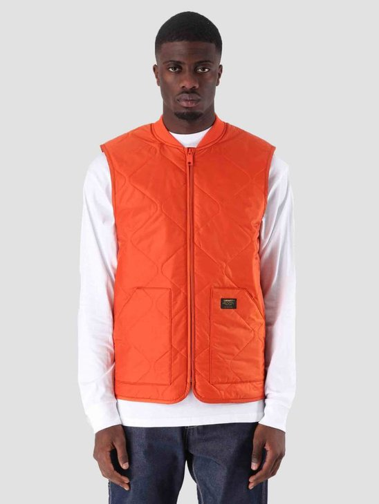 Carhartt WIP Newton Vest Liner Persimmon I023426-89200