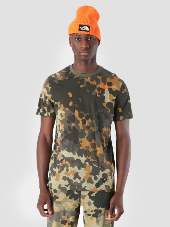 The North Face Red Box T-Shirt New Taupe Green Mcrflkpt