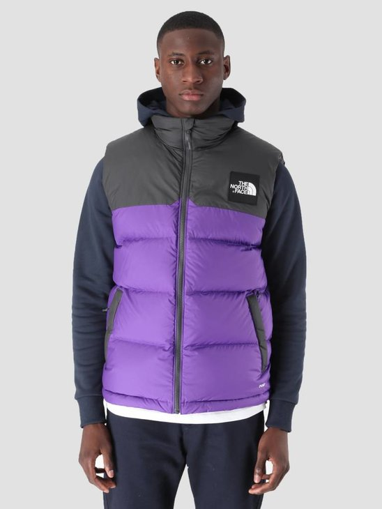 The North Face 1992 Nuptse Vest Tllndspr Asphalt Grey