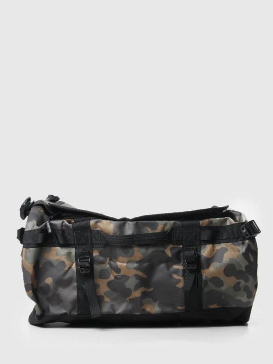 The North Face Base Camp Duffel New Taupe Green mcfcp TNF