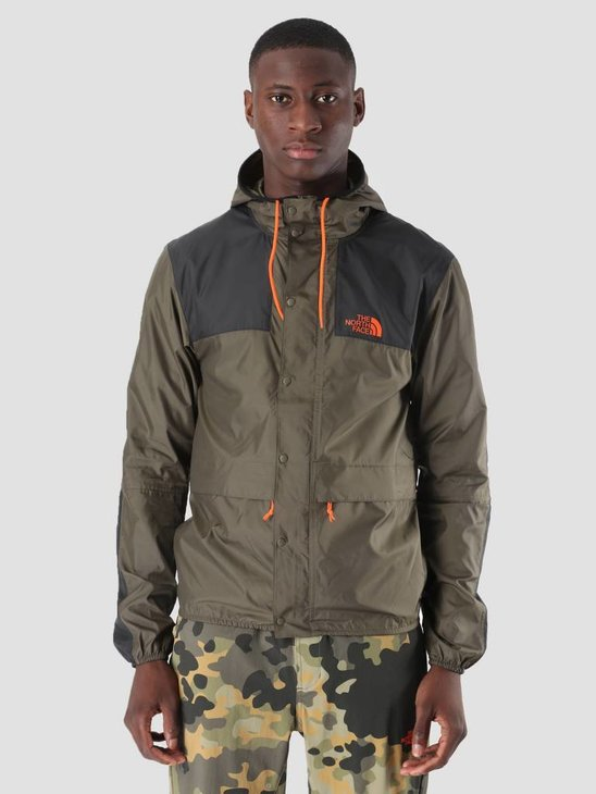 The North Face 1985 Mountain Jacket New Taupe Green TNF Black