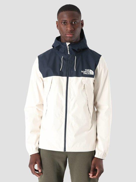 The North Face 1990 Mountain Q Jacket Vintage White Urban Navy