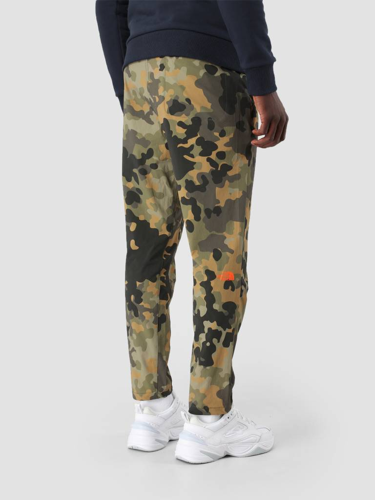 The North Face The North Face Tech Woven Pant New Taupe Green mcrflkpt