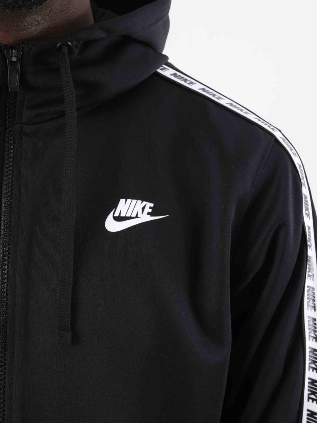 Nike Nike Repeat Fz Hood Poly Black White AR4911-010