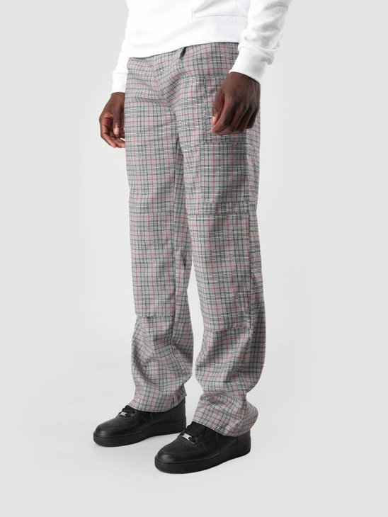 Daily Paper Defac Pant Black White Red Check 18F1BO02