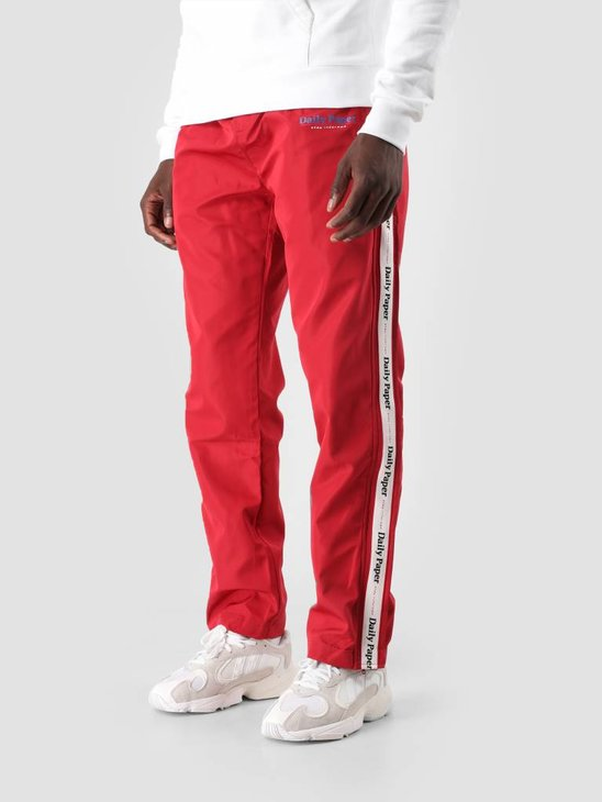 Daily Paper Dezip Pant Red 18F1BO05