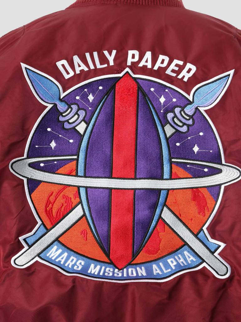 Daily Paper Daily Paper Alpha Industries Mars Mission MA-1 Jacket Bordeuax OW01