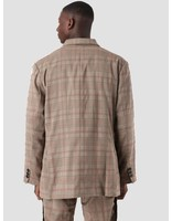 Daily Paper Daily Paper Dune Jacket Brown Grey Black Check 18F1OU15