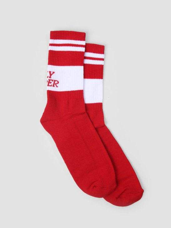 Daily Paper Daja Socks red 18F1AC17