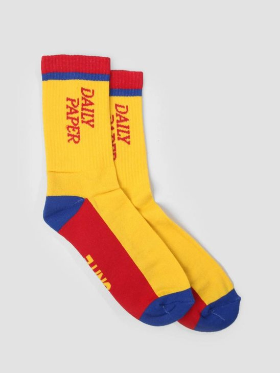 Daily Paper Daldi Socks Light Yellow 18F1AC16