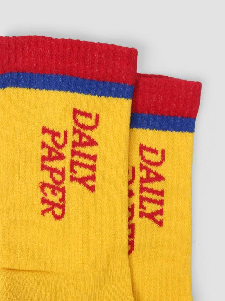 Daily Paper Daily Paper Daldi Socks Light Yellow 18F1AC16