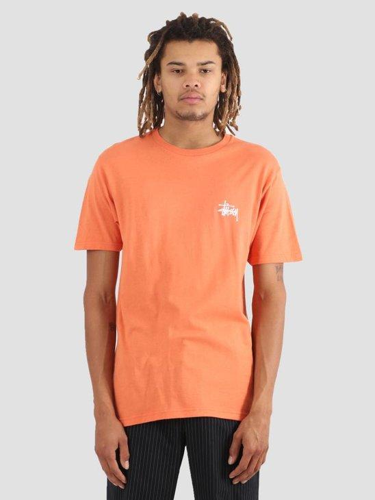 Stussy Basic Stussy T-Shirt Rust 0627