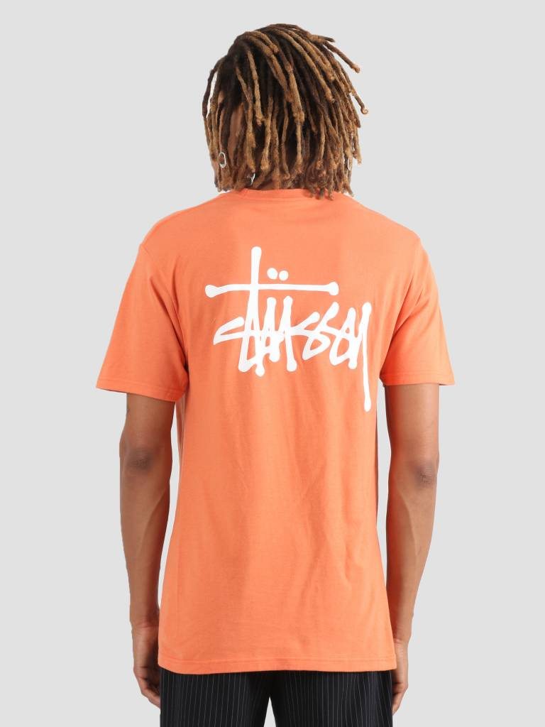 Stussy Stussy Basic Stussy T-Shirt Rust 0627