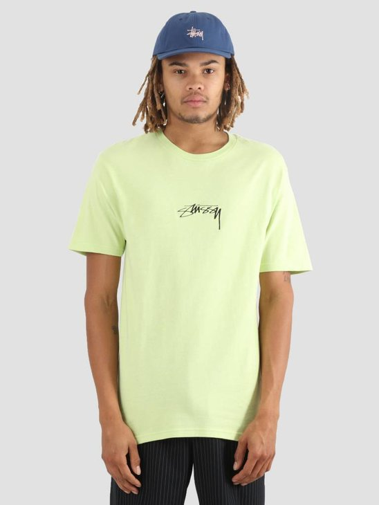 Stussy Smooth Stock T-Shirt Pale Green 0453