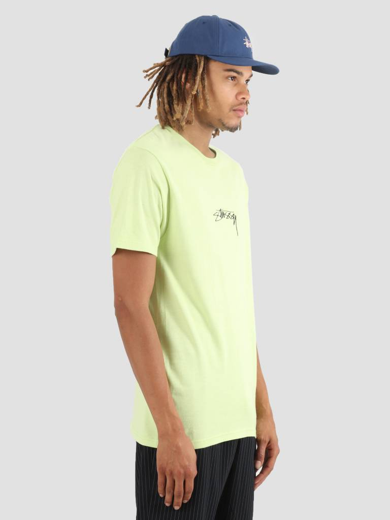 Stussy Stussy Smooth Stock T-Shirt Pale Green 0453