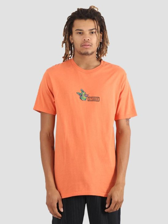 Stussy Butterfly T-Shirt Rust 0627