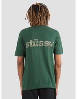 Stussy Stussy Camo Italic T-Shirt Pine 0460