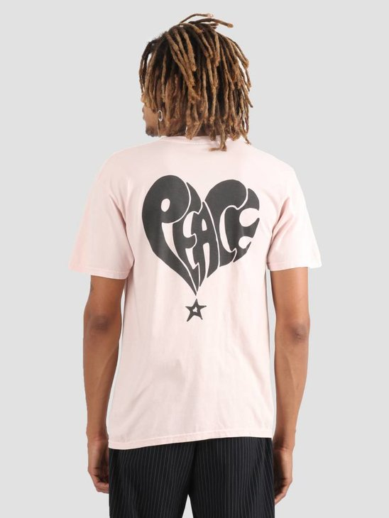 Stussy Peace Pig. Dyed T-Shirt Blush 1232