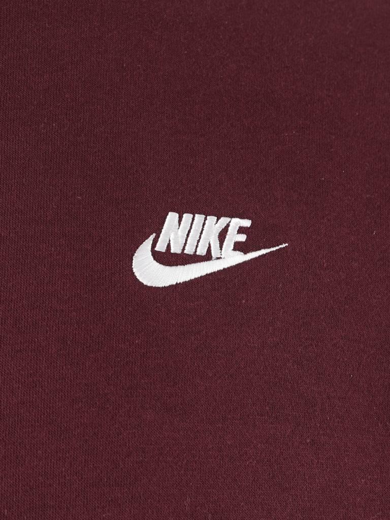 Nike Nike NSW Crew Sweater Burgundy Crush  White 804340-652