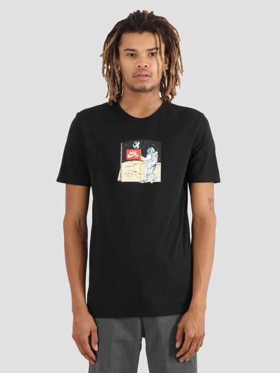 Nike SB T-Shirt Black Aa8081-010